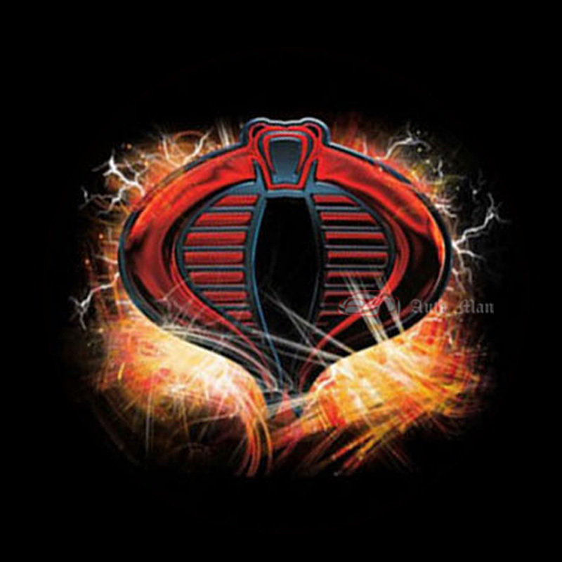 Auto Sigaret Laser Projector Dome Dak Lamp Cobra Logo Ghost Shadow