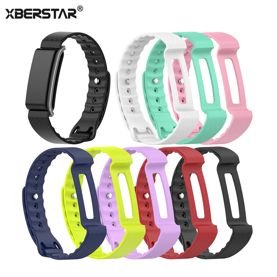 Replacement Wristband Strap For Huawei Honor A2 Smart Band TPE Watch Wrist Band Bracelet Belt Strap High Quality