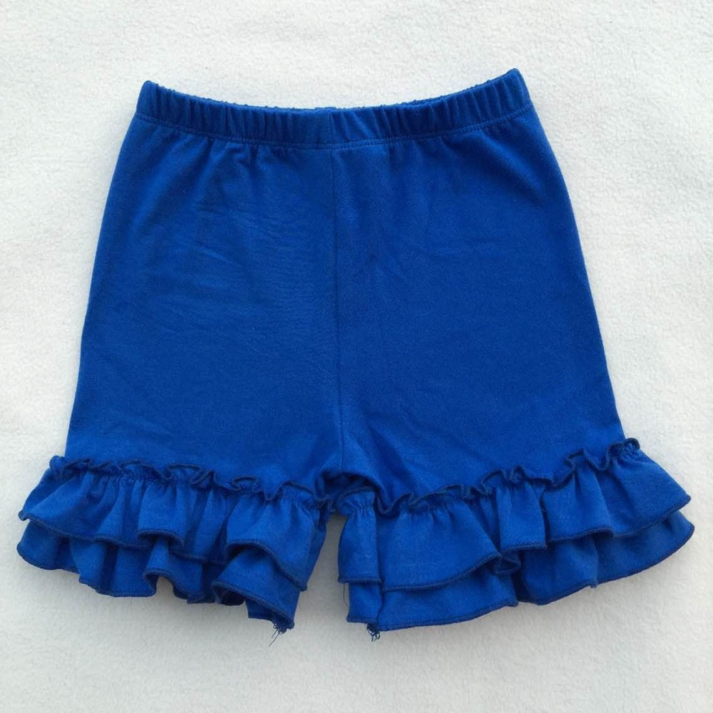 icing Ruffle   Shorts   Toddler Girls summer   Shorts   Kids leggings Baby Clothes 2 layers ruffle   shorts