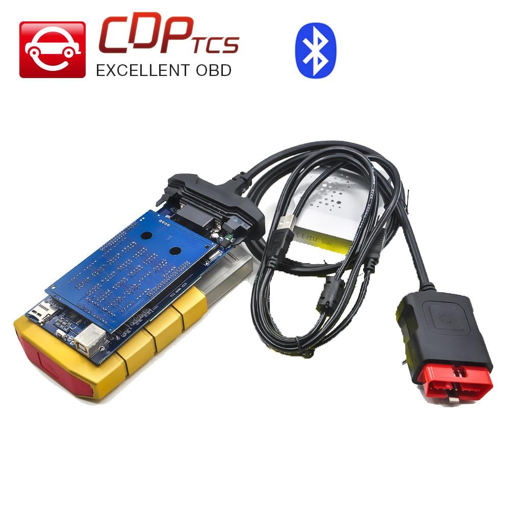 Prix pour Or couleur Avec Bluetooth TCS 2014. R2/R3 option livraison activé tcs pro Multi-langue En stock livraison gratuite