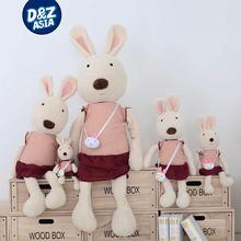 Destroyed bunny with bag models lesucre cute rabbit bunny doll plush toys manufacturers wholesale