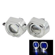 2 шт. 3.0 дюймов H4Q5 bi xenon bixenon спрятал объектив проектора металлический держатель D1S D2S D2H D3S для BMW светодиодный день бег глаза ангела ксенон