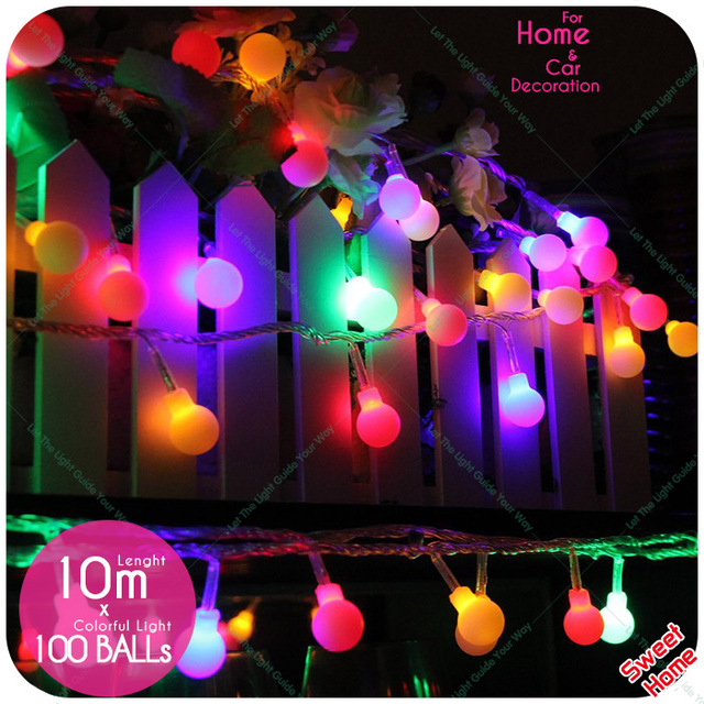 30Leds Christmas Lights DIY Party Wedding Decoration LED String