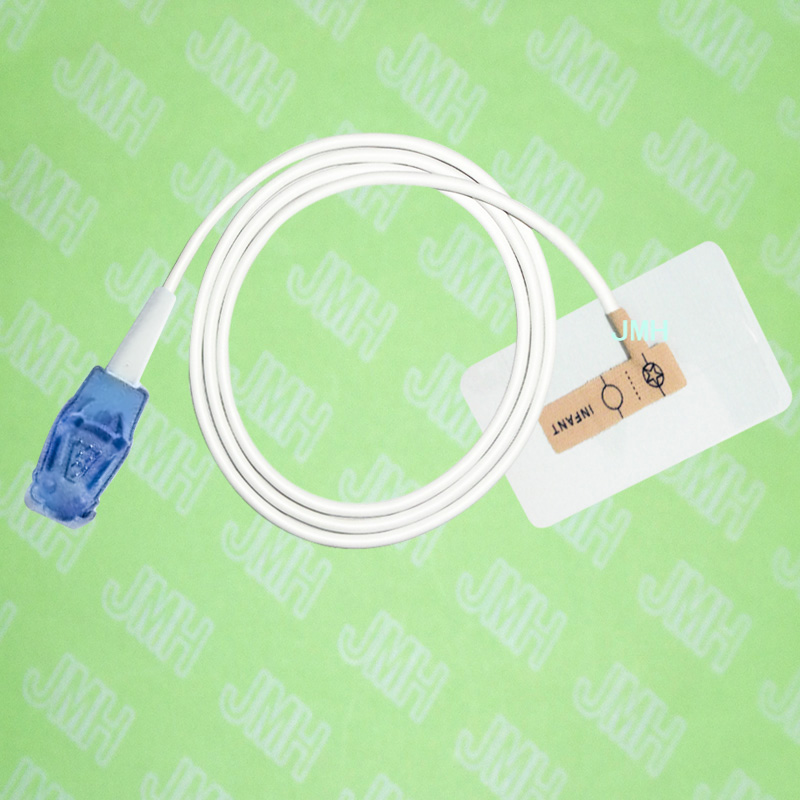 Compatible 8pin Datex Ohmeda Pulse Oximeter monitor the Infant baby disposable SPO2 sensor(Non-woven),5 pcs.