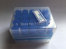 20pcs tubes &1pcs box 1.8ml/2ml freezing tube with scale and silicone washers preservative frozen sample Sub-tube