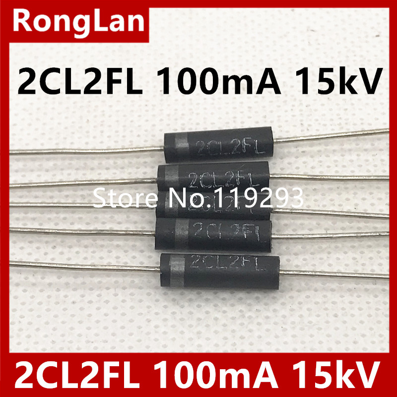 BELLA high voltage high voltage diodes 2CL2FL 100mA 15kV high voltage silicon stack 50pcs lot