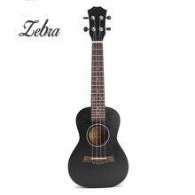 Zebra 23 Inch Black Rosewood Fingerboard Concert Ukulele Sapele Hawaii Ukelele Guitarra Bass Guitar For Musical Instruments