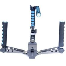 купить Portable Multifunctional Handles/Bracket Foldable Shoulder Rig Mount DSLR Camera/Video Camera Stabilizer For Canon Sony Nikon дешево