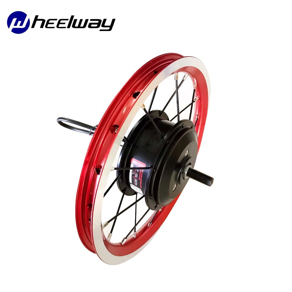 Wheelway 14 Zoll Vorne Hub Motor 36V 250W Falten Fahrrad Elektrische Bike Rad Antrieb Motor DIY Conversion Kit