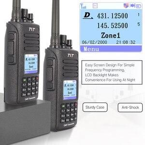 Image 4 - Tyt MD UV390 Dmr Radio Gps Waterdichte IP67 Walkie Talkie Upgrade Van MD 390 Digitale Radio Md UV390 Dual Band Vhf Uhf tyt Dmr 5W
