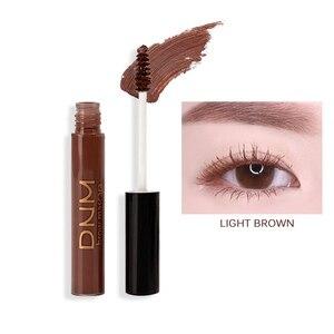 Image 5 - 4 kolory profesjonalny tusz do rzęs wodoodporny oczy kosmetyki przedłużanie rzęs brązowy biały tusz do rzęs makijaż oczu