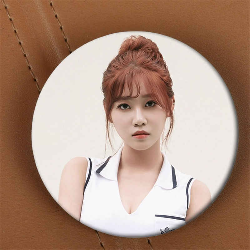 Youpop kpop aoa 에이스 천사 앨범 브로치 K-POP 핀 배지 액세서리 의류 모자 배낭 장식 hz1718