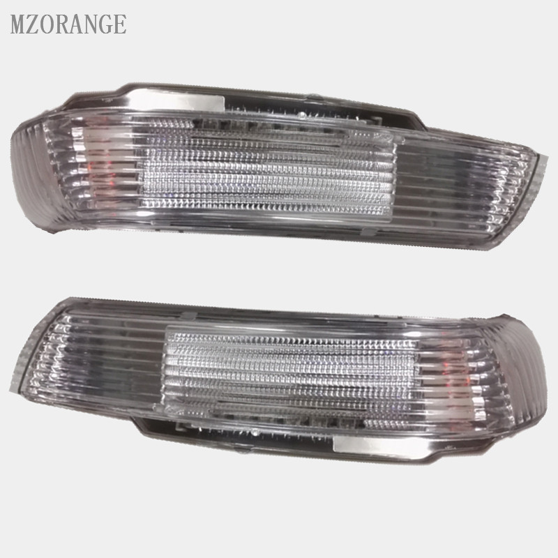 купить MZORANGE Right/Left Side Rear View Mirror LED Turn Signal Light Lamp 7L6 949 102 B A For Volkswagen For VW TOUAREG 2003-2007 дешево