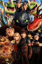 Custom Toothless Sticker Anime Wallpaper How To Train Your Dragon Poster Train Your Dragon 2 Wall Stickers Christmas Decor #963#