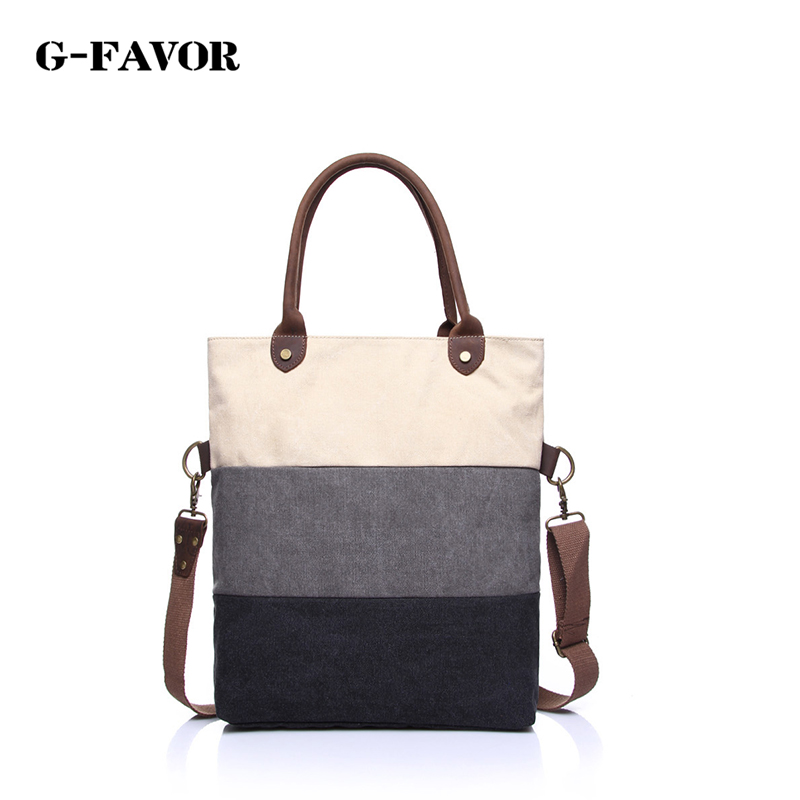 New Arrival Canvas Shoulder Bags Women Casual Style Messenger Bag for Women Vintage Handbag Mujer Totes Hand Bag new arrival fashion color stitching simple silver buckle casual chain handbag women s shoulder bag across body messenger totes
