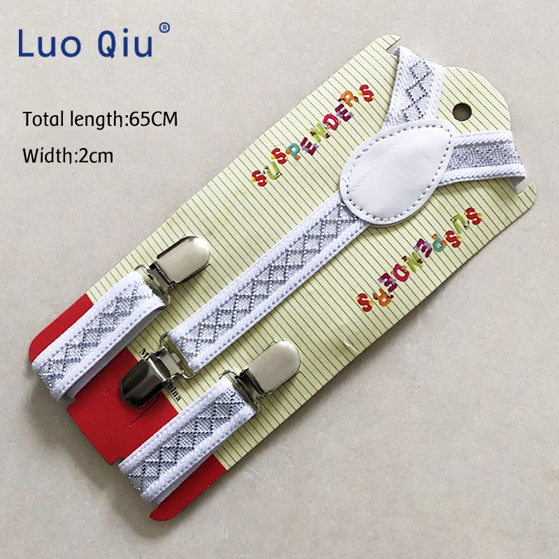New Super Baby Boys Girls Kid Children Clip On Y Back Elastic Suspenders Slim Adjustable Braces