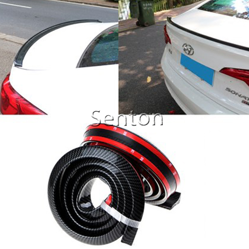 Car Carbon Fiber Spoilers Sticker For Chevrolet Cruze Aveo Captiva Lacetti TRAX Sail Epica For Acura MDX RDX TSX Accessories cmos ик штатная камера заднего вида avis electronics avs315cpr 012 для chevrolet aveo captiva epica cruze lacetti orlando rezzo opel antara