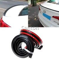 Car Carbon Fiber Spoilers Sticker For Chevrolet Cruze Aveo Captiva Lacetti TRAX Sail Epica For Acura MDX RDX TSX Accessories