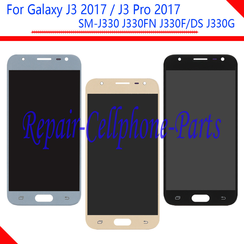 5.0 pollici LCD display Touch Screen Digitizer Assembly Per Samsung Galaxy J3 2017/J3 Pro 2017 SM-J330 J330 J330FN j330F/DS J330G5.0 pollici LCD display Touch Screen Digitizer Assembly Per Samsung Galaxy J3 2017/J3 Pro 2017 SM-J330 J330 J330FN j330F/DS J330G