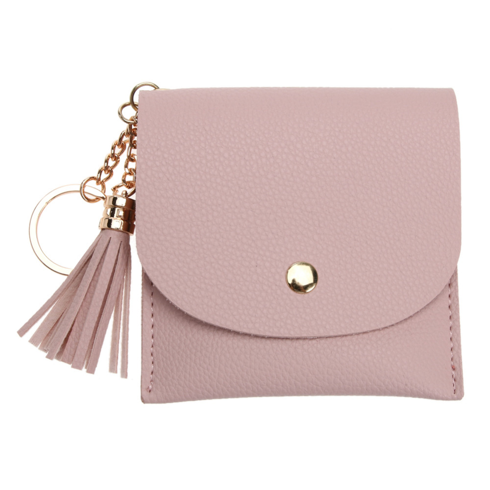 Mini Small Wallet Vinage PU Leather Credit ID Card Holder Fashion Unisex Wallet Bank Card Bag Case Coin Purse