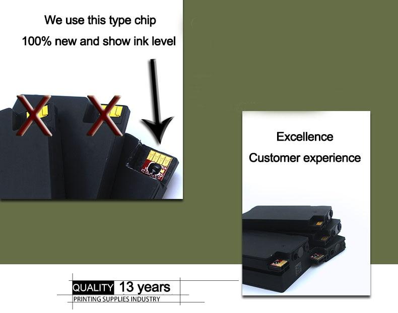 4 шт Відновлений для картриджа HP 932xl - Офісна електроніка - фото 3