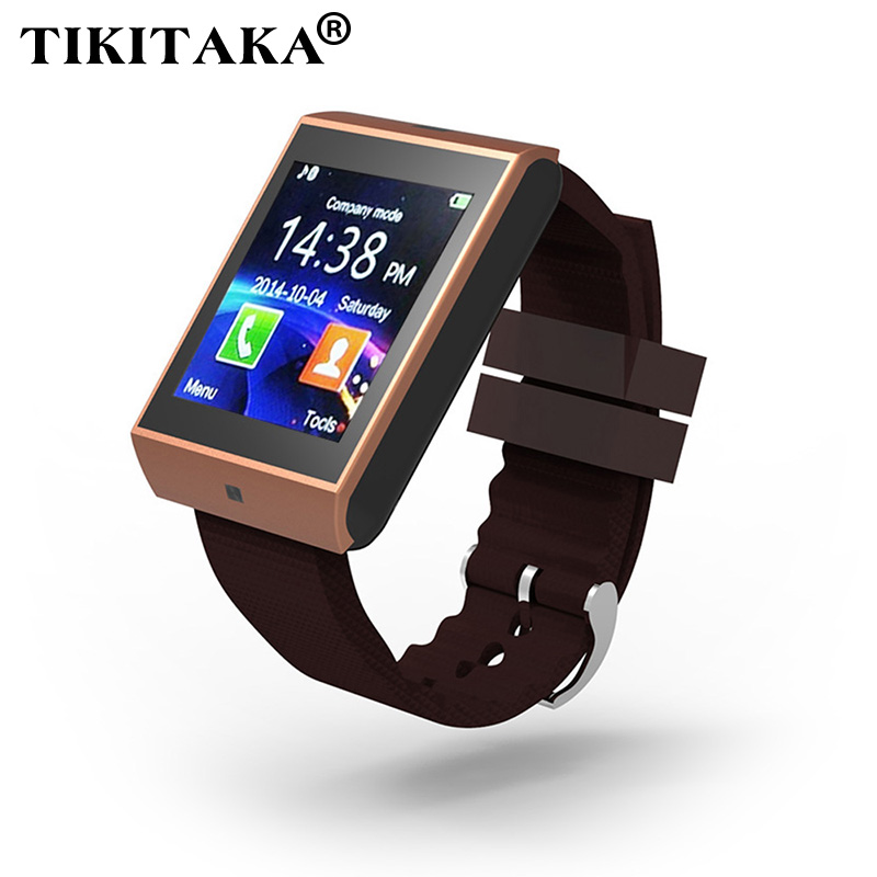 Multilingüe! Bluetooth Smartwatch Reloj Podómetro Saludable Pulsera Soporte de T