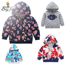 Baby Hooded Jacket Coat Clothes Long Sleeve Keep Warm Winter Newborn Children Infant thick Hoodie Clothing Snowsuit Play Mats(China)