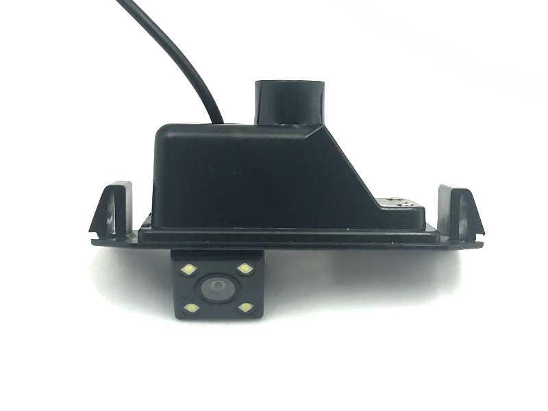 Dla Hyundai i10 i20 2008 ~ 2018 tylna kamera samochodowa HD CCD noktowizyjna kamera cofania NTSC PAL