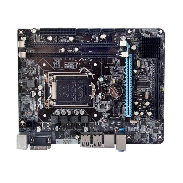 Intel P55 DDR3 carte mère haute performance ordinateur de bureau carte mère Interface de processeur LGA 1156