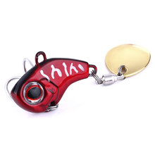 HENGJIA Spoon VIB-Sequin Fishing Lures Hard Crankbait 9g 14g 16g Jig Wobbler Tackle