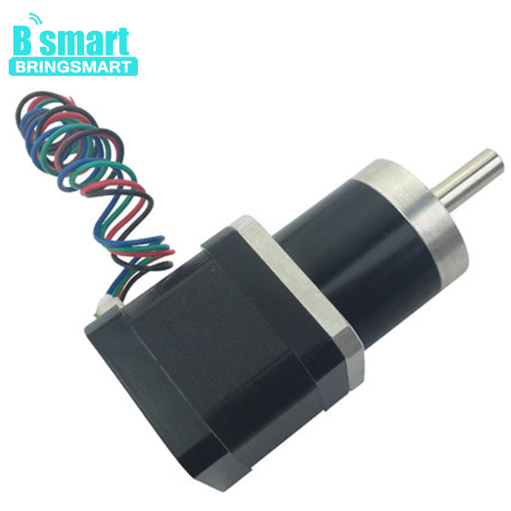 Bringsmart Planetary Motor PG36-42BY High Torque Hybrid Worm Geared Motor Applied To Robot Toys DIY With GearboxBringsmart Planetary Motor PG36-42BY High Torque Hybrid Worm Geared Motor Applied To Robot Toys DIY With Gearbox