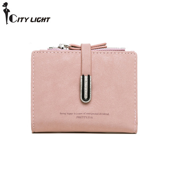 Luxury Wallets Female PU Leather Women Purse Hasp Wallet Ladies Hot Change Card Holder Coin Small Purses For Girls