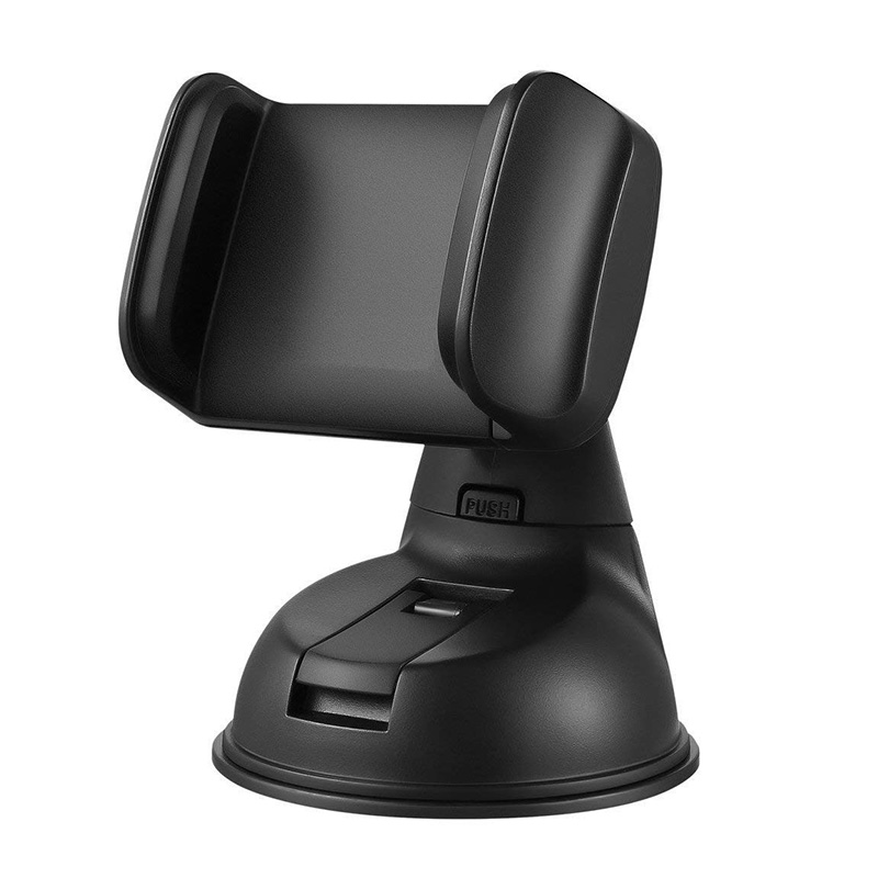 Universal 360 Degree Car Windshield Phone Holder Dashboard Mini Automatic Lock Suction Cup Cradle Mount Stand For Phone GPS