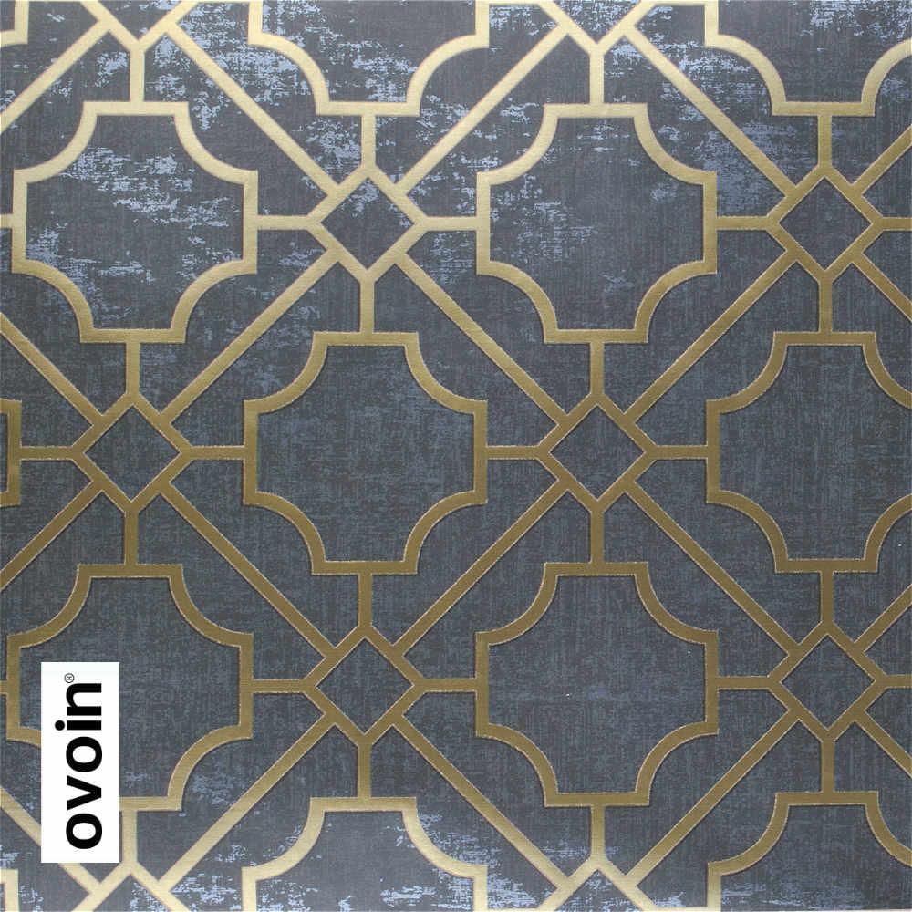 トレリスモダンなダークグレー幾何壁紙ロール黒壁紙 黒壁紙 壁紙 幾何
