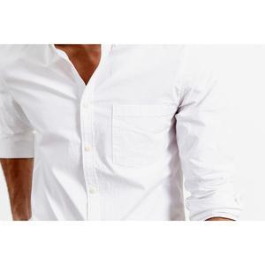 Image 5 - SIMWOOD 100% coton chemises hommes classique décontracté poitrine poche 2020 printemps été nouvelle haute qualité chemise 190068