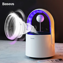 Baseus USB Powered Electric Mosquito Killing Lamp Electric LED Trap Lamp Indoor UV Light Lamp For Mosquito Housefly Insects(China)