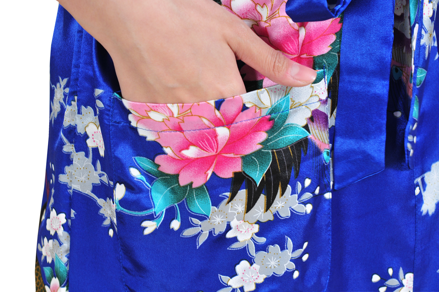 e9c05a1d3fb Ladies  Summer Long Cardigan Nightgown Thin Print Bathrobe Women Night  Gowns Sexy Bath Floral Robe Femme Womens Dressing Gown-in Robe   Gown Sets  from ...