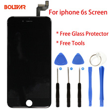 For iphone 6s lcd Screen Display 6s Touch Digitizer Screen Assembly mobile