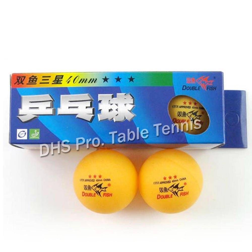 30x DoubleFish 3-star 40mm Table Tennis Balls