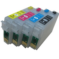 T1811 18 refillable ink cartridge for EPSON XP212 XP215 XP312 XP315 XP412 XP415 XP225 XP322 XP325 XP422 XP425 XP30 XP102 XP202|ink cartridge|ink cartridge for epson|cartridge for epson -