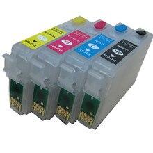 T1811 18 многоразового картридж для EPSON XP212 XP215 XP312 XP315 XP412 XP415 XP225 XP322 XP325 XP422 XP425 XP30 XP102 XP202