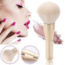 1 pcs Rose Gold Powder Blush Brush Professional Make Up Brush Large Cosmetics Makeup Brushes Foundation Make Up Tool rose gold powder blush brush professional single soft face make up brush large cosmetics makeup brushes foundation make up tool