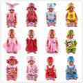 14 estilos de Ropa Hecha A Mano los accesorios de ropa de la Muñeca de la muñeca de 43 cm Bebé Nacido zapf, americana de la muchacha, regalo de cumpleaños los niños toys