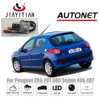 JIAYITIAN license plate camera For Peugeot 206 207 306 Sedan 406 407 CCD Night Vision Reverse camera rearview camera