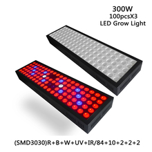 цены 300W LED Grow Light Full Spectrum 3030SMD Anti-fog reflection Grow Lamp for Plants Indoor Greenhouse Hydroponics grow tent light