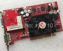 Огонь GLX1 R300 128 МБ AGP Dual Порт DVI Видеокарта 9Y130 109-94200-30