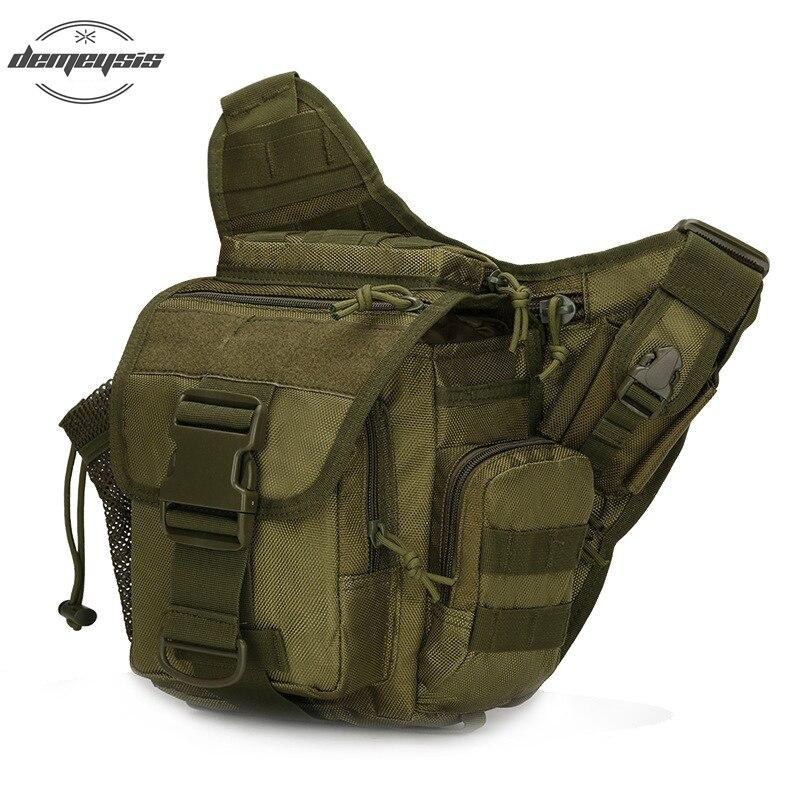 Outdoor Tactical Messenger Bag Canvas Tactical Military Saddle Bag Leisure Mountaineering Bag sa212 saddle bag motorcycle side bag helmet bag free shippingkorea japan e ems