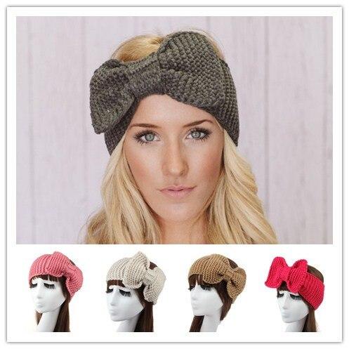 women winter woolen braided crochet elastic headbands headband headwrap  head hair band bandana turban wrap accessories for women 17c8171fe76