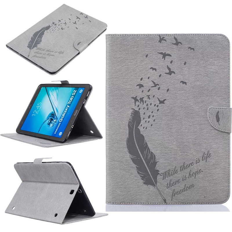 Luxury Tablet Cover Case For Samsung Galaxy Tab S2 9.7 inch SM-T810 SM-T815 PU Leather Flip Wallet Stand Cover For T810 T815 keymao luxury flip leather case for samsung galaxy s7 edge
