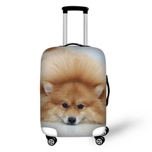 Hot Fashion Travel Dog print Luggage Cover Protective Suitcase cover Trolley case Travel Luggage Dust cover for 18 to 30inch hot fashion traveling on the road suitcase case protective case cover trolley bus case trip suitcase dust cover for 18 to 32 inc